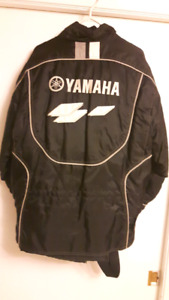 Yamaha snowmobile jacket and bibs size large