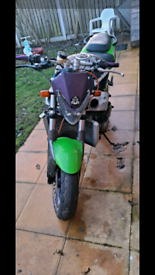 2002 zx9r street fighter spares or repairs