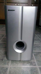 A Pioneer Home Theater Subwoofer