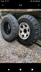 Michelin 4x4 off-road tyres 7.50 R16c