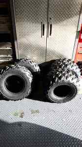 full set of stock tires  good shape Strathcona County Edmonton Area image 1