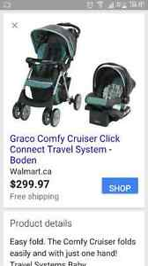 Graco car seat and matching stroller. Stratford Kitchener Area image 8