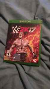 WWE 2k17 & Guitar Hero Live Xbox one.