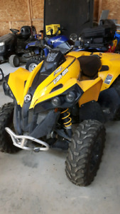 *reduced* 2014 can am Renegade 500 atv. Low km.