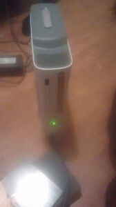 X box 360, headset, 6 games and 13 on hardrive