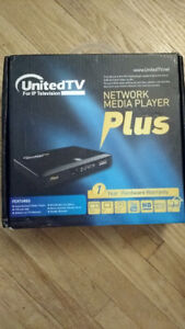 Media Player TV Box United TV for IP Television Plus