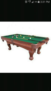 8ft sport craft pool table