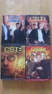 CSI: Miami Saisons / Seasons 1,2,3,4