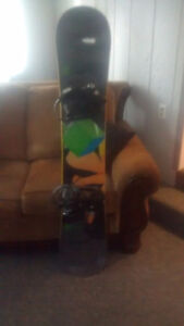 Forum Snowboard, K2 boots & bindings