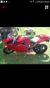 Ducati 999s solo reg 2005 model low klms