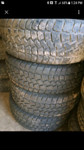 Used winter tires and wheels