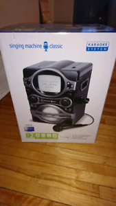 Karaoke machine for sale