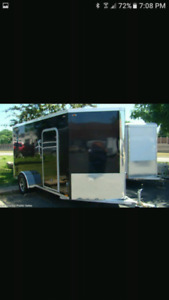 Enclosed  cargo trailer aluminum