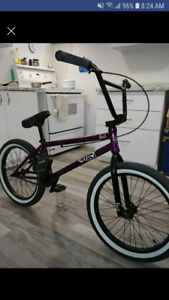 Purple & black Fiend Bmx