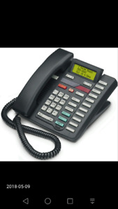 Nortel M9417 2 line analog telephone