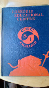 1981 Yearbook - Cobequid Education Centre - $5.00