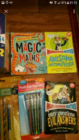 Murderous maths books and stationery