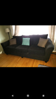 NEED GONE ASAP!!  Brown couch set