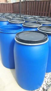 55 gallon food grade plastic barrels-brampton