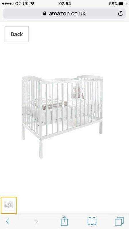 Space Saver Kinder Valley Cot