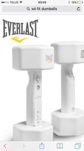 Wii fit dumbbells