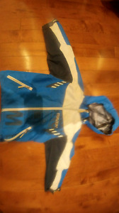 Spring coat lined sz 4 boys