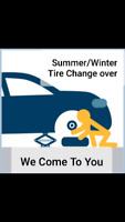 Mobile Tire swap winter to summer