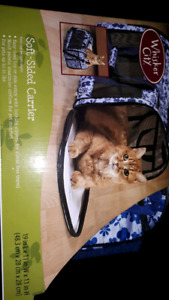 Soft sided cat or small dog carrier NEW