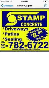 Stamp concrete . Ca the name you know and trust
