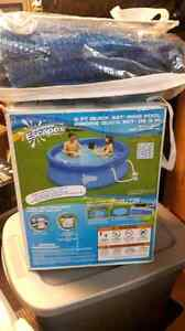 Pool with cover 30$ OBO
