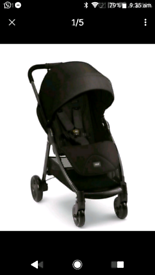 Mammas and pappas black armadillo pushchair