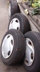 TIRES(155/80R13) WITH RIMS