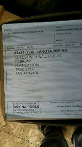 Brand new never opend 24×15 pool liner