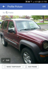 2002 Jeep liberty for parts - price reduced