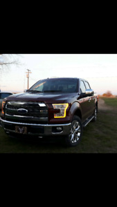 2015 Ford F150 Lariat 502 package 360camara twin panel moon roof