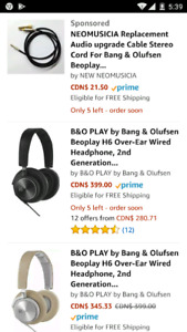 Bang & Olufsen H6 2nd gen headphones