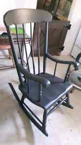 Freshened up rocking chair Belleville Belleville Area image 1