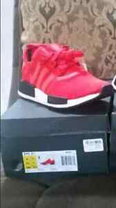 Adidas NMD R1 - clear red sizes 8