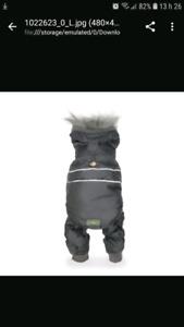 Manteau hiver pour chien grandeur XL 2 pièces