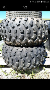 Rear atv tires