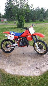 Up for sale 1984 cr250r in good original condition.
