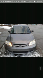 2005 Honda civic want gone today.