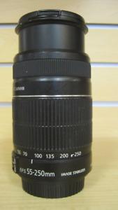 Canon EFS 55-250 mm Lens