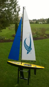 RC Phantom Model Sailing Yacht