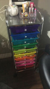 10 drawer rainbow organizer