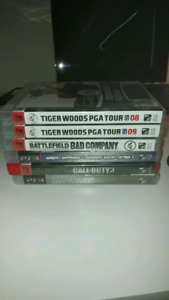 6 PS3 Games