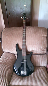GIO Ibanez bass and EG 30 watt amp