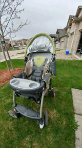 Chicco stroller for grab-and-go system.