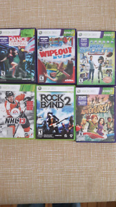 Xbox 360 games $15 for all