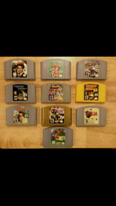 Assortment of N64 Titles - Prices in Description